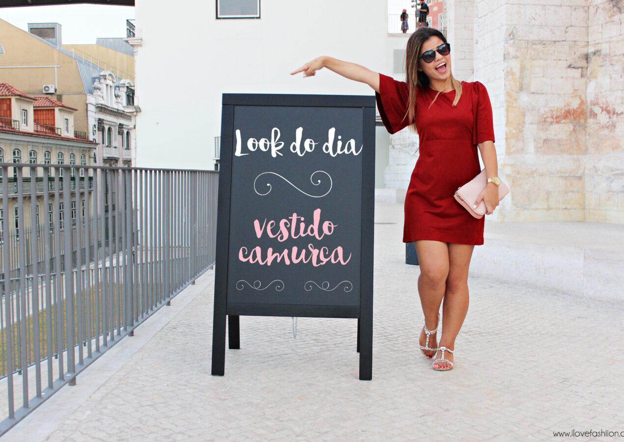 Look do dia: Vestido camurça