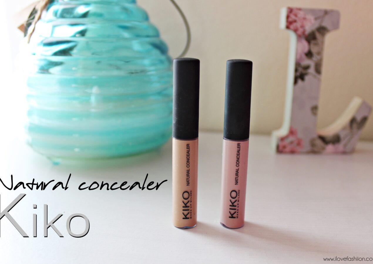 Review: Natural concealer KIKO