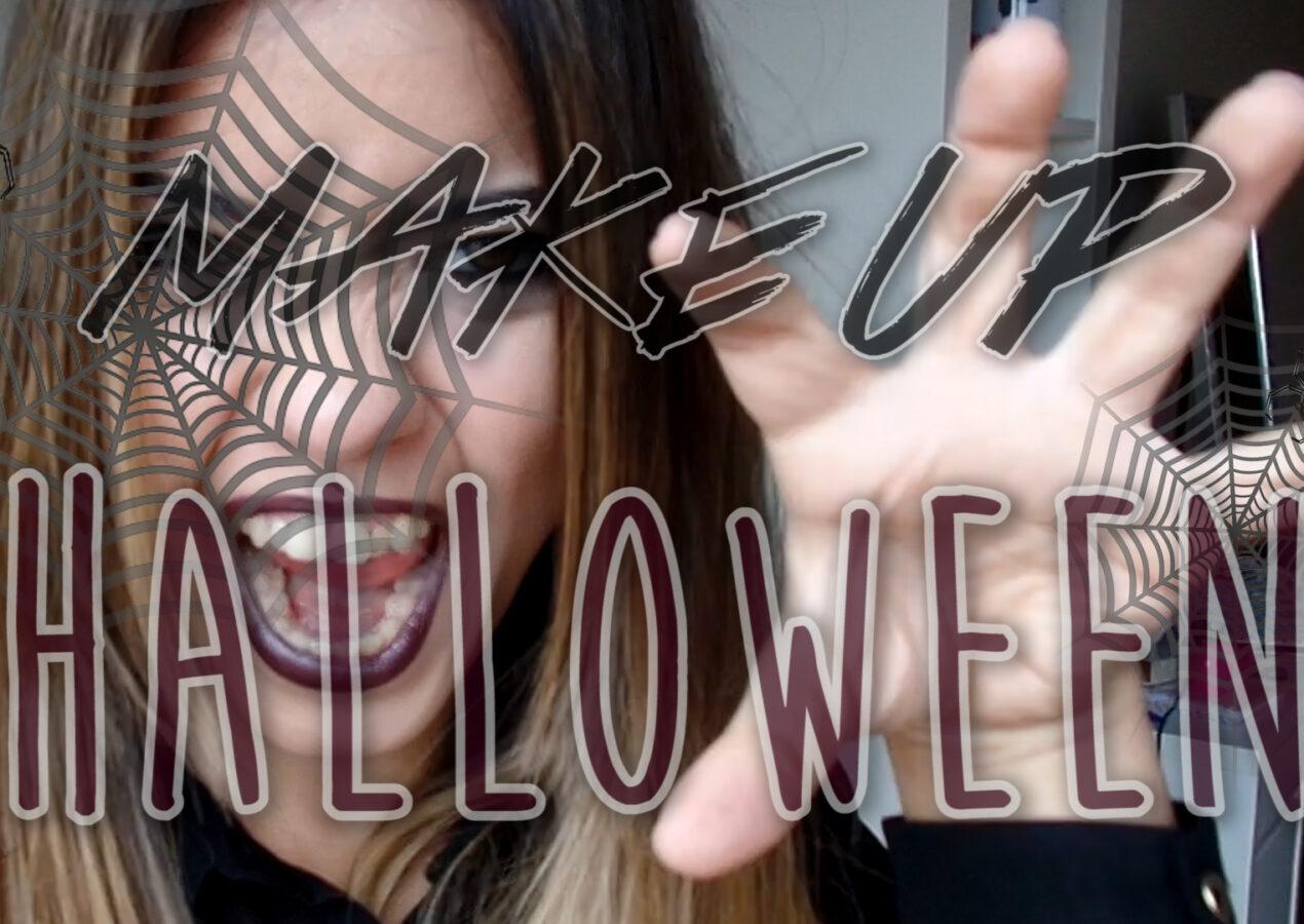 Make Up de Halloween básica